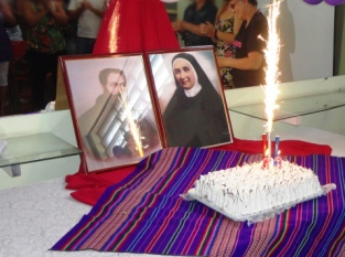 Padre José Benito Serra e de Madre Antonia, co-fundadores da Congregação das Irmãs Oblatas do Santíssimo Redentor
