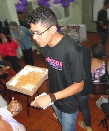 Rafael OSA, voluntário da Pastoral