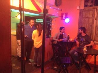 Gravação - Encontrando o cliente no bar