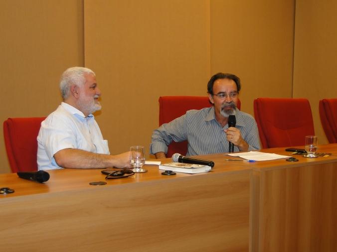 Professor João Batista e Rudá Ricci