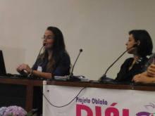 @Seminário Desigualdade de Gênero e Violência contra a Mulher 45.460 casos de estupro registrados no Brasil. Esses dados retratam apenas 10% de casos que chegam à polícia. (Luiza Drumond - Delegada)
